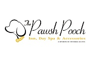 "New startup The Pawsh Pooch came to us for a fancy and elegant logo design to match the ""visitors"" of this pet grooming and boarding facility."
