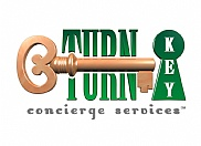 3D logo design for Turn Key Concierge Services.