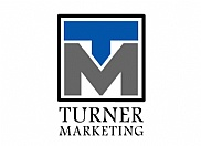 Graphical mockups of logos for Turner Marketing.