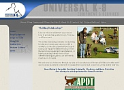 Universal K-9 was looking to expand their retail division as well as promote their K-9 training services online. We helped them by designing a new web site to accomplish just that.