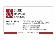 With a newly designed logo, Siler Financial Group also needed new marketing materials for their day-to-day use.