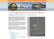 The Florida Department of Transportation already had an existing web site for the proposed commuter rail, but it didn't have enough style and functionality to promote public interest. They came to us to come up with a new design that would help them achieve all of their goals and more.