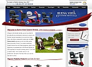 The Buena Vista Companies came to us with a request to fully redesign their existing web site to make it much more functional and look pleasing to the eye. We followed a similar color scheme to their logo and scooters to make a cohesive look and feel.