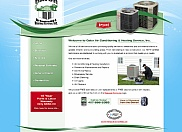 Gator Air Conditioning started out with a home-made web site but soon came to us for a professional web site redesign.  We gladly helped them with this and they are now getting more traffic than they ever did before.