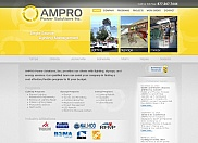 AMPRO Power Solutions came to us when they were ready for a complete overhaul of their website and company look and feel. Based on their business and services, we designed a very modern and eye-catching website design with plenty of movement and functionality.