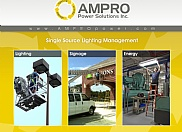 AMPRO Power Solutions attends different trade shows and expos often so they hired us to design a couple of 10 foot trade show display graphics. The designs were made to grab the attention of attendees while still maintaining a very professional look.
